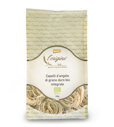 pasta biologica integrale capelli d'angelo